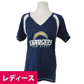 NFL チャージャース ゴー フォー 2 レディース Tシャツ マジェスティック/Majestic ネイビー