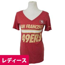 スーパーボウル進出 NFL 49ers BCA トライ レディース Tシャツ ナイキ/Nike レッド