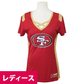NFL 49ers ドラフト ミー レディース Tシャツ マジェスティック/Majestic レッド