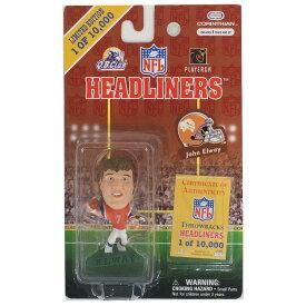 NFL ブロンコス ジョン・エルウェイ ヘッドライナーズ 1997 エディション スローバック NIB フィギュア コリンシアン/Corinthian オルタネート レアアイテム