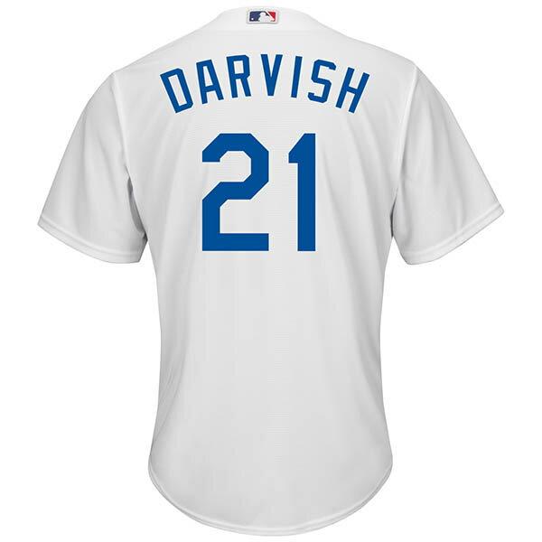 MLB ドジャース ダルビッシュ有 クールベース プレイヤー レプリカ ゲーム ユニフォーム マジェスティック/Majestic ホーム