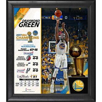 訂購的NBA uoriazudoreimondo·綠色2017最後勝利紀念拼貼畫架子