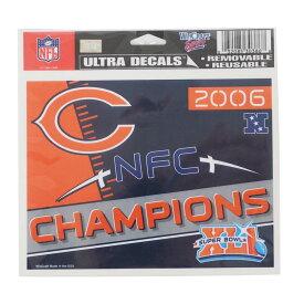 NFL ベアーズ 2006 NFC チャンピオン ステッカー ウィンクラフト/WinCraft【1910価格変更】