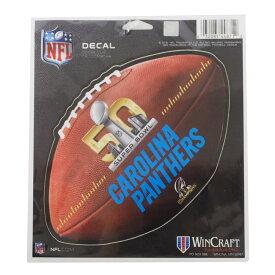NFL パンサーズ 2016 NFC チャンピオン ステッカー ウィンクラフト/WinCraft【1910価格変更】