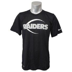 NFL レイダース NK ドライフィット LGD Tシャツ ナイキ/Nike ブラック 841132-010