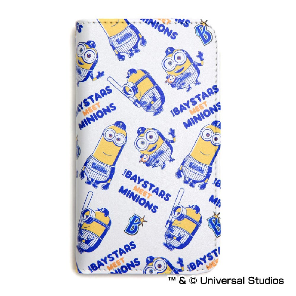 お取り寄せ 横浜DeNAベイスターズ グッズ ミニオン コラボ マルチ iPhone7/6s/6 Galaxy S6 edge URBANO L02 AQUOS スペースエイジ/Space Age