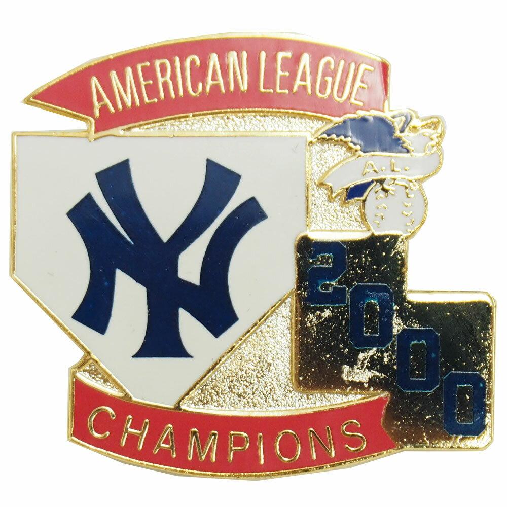 MLB ヤンキース 2000 アメリカン・リーグ チャンピオン 記念 ピンバッジ レアアイテム