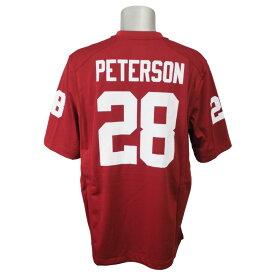 NCAA オクラホマ大学 エイドリアン・ピーターソン プレイヤー ネーム ゲーム ユニフォーム ナイキ/Nike クリムゾン 00036095X【1910セール】