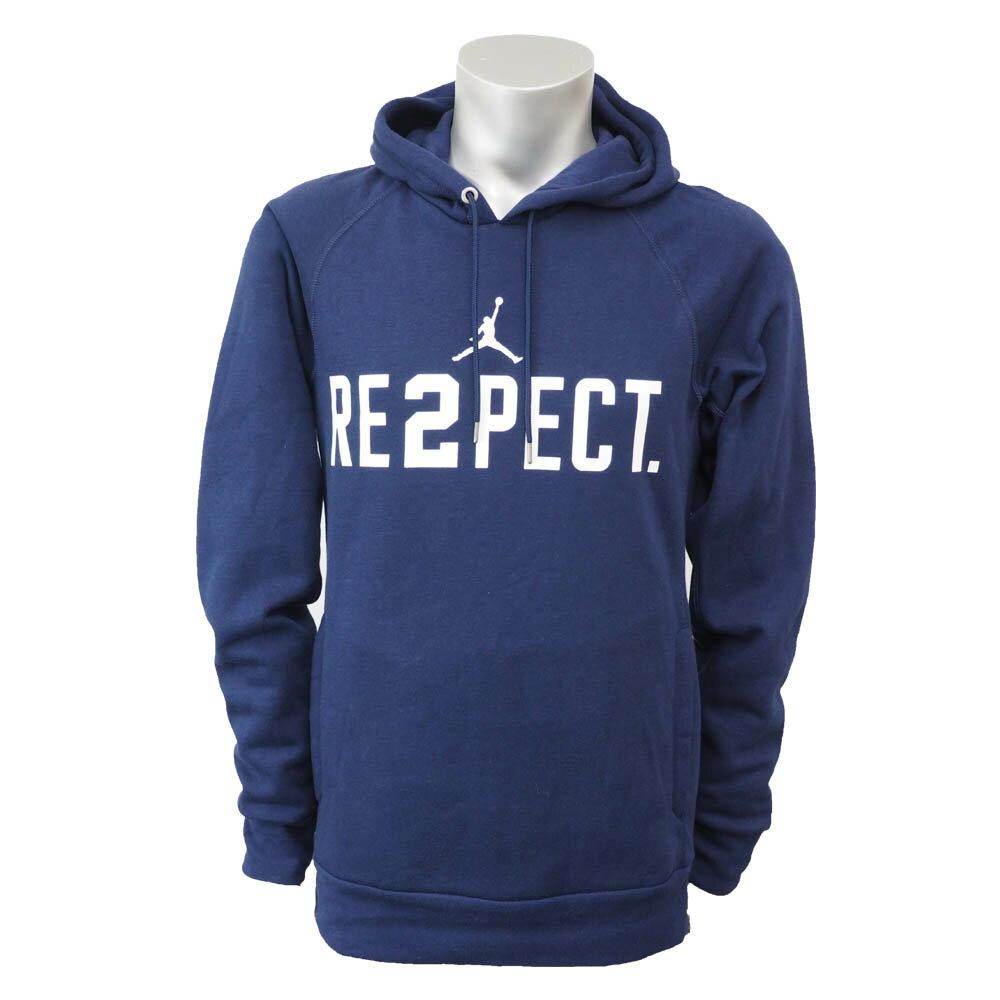 ナイキ ジョーダン/Nike JORDAN デレク・ジーター Re2pect プルオーバー パーカー ナイキ/Nike ネイビー 828553-419 レアアイテム