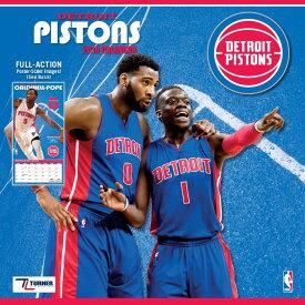 NBA ピストンズ 2018 チーム ウォール カレンダー ターナー/Turner【セール】【1910価格変更】