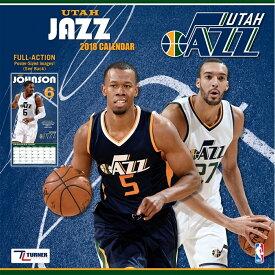 NBA ジャズ 2018 チーム ウォール カレンダー ターナー/Turner【セール】【1910価格変更】