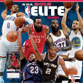 NBA 2018 エリート ウォール カレンダー ターナー/Turner【セール】【1910価格変更】