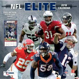 NFL 2018 エリート ウォール カレンダー ターナー/Turner【セール】【1910価格変更】