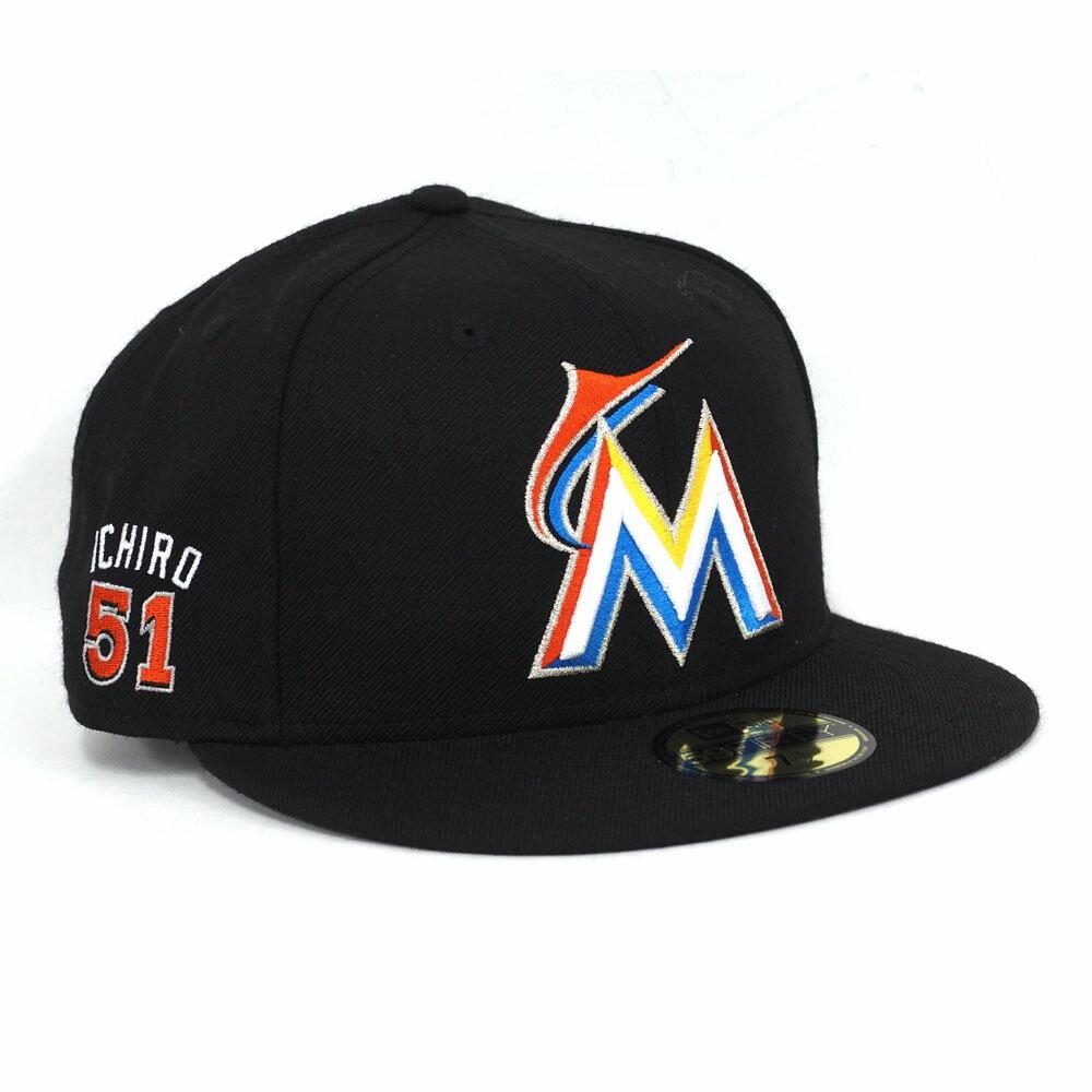 MLB マーリンズ イチロー ジャパニーズ プレーヤー 59FIFTY キャップ ニューエラ/New Era
