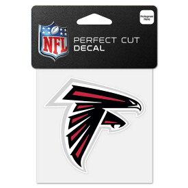 NFL ファルコンズ ロゴ カラー ステッカー/シール ウィンクラフト/WinCraft