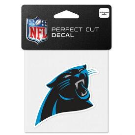 NFL パンサーズ ロゴ カラー ステッカー/シール ウィンクラフト/WinCraft