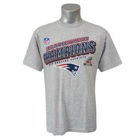 NFL ペイトリオッツ 2011 AFC カンファレンス チャンピオン Tシャツ グレー レアアイテム【1910セール】