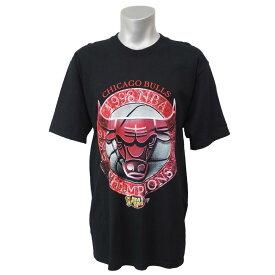 NBA Tシャツ ブルズ 1998 チャンピオンズ ブルズ ツアー スターター/Starter ブラック レアアイテム【1910価格変更】【1911NBAt】