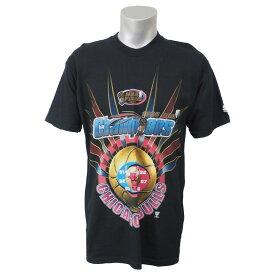 NBA Tシャツ ブルズ 1998 チャンピオンズ スターター/Starter ブラック レアアイテム【1910価格変更】【1911NBAt】