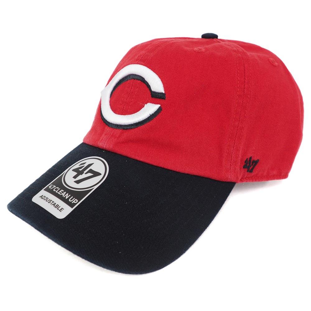 MLB レッズ クリーンナップ アジャスタブル キャップ/帽子 47ブランド/47Brand オルタネート【0702価格変更)】