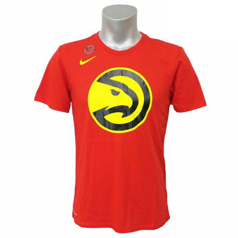 NBA Nike/ナイキ ホークス ロゴ ショートスリーブ Tシャツ ユニバーシティレッド