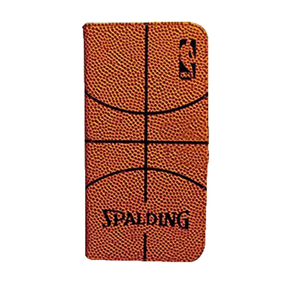 NBA iPhone7 カバーケース スポルディング/SPALDING オレンジ
