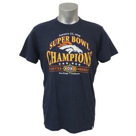 NFL ブロンコス 第32回スーパーボウル チャンピオン Tシャツ 47ブランド/47Brand ネイビー レアアイテム【1910セール】