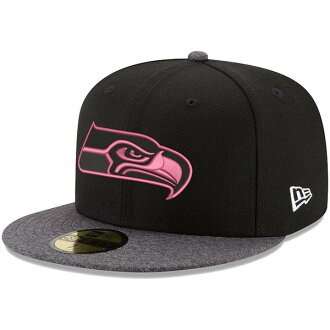 Order NFL Seahawks pink hook 59FIFTY フィッテッドキャップ / hat new gills /New Era black / graphite