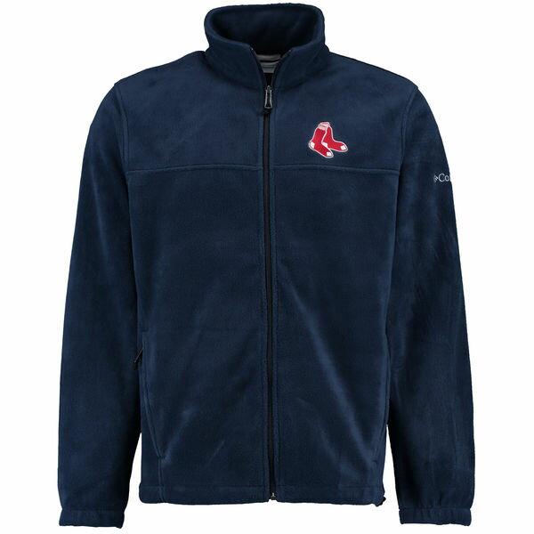 MLB レッドソックス フランカー フルジップ ジャケット コロンビア/Columbia ネイビー