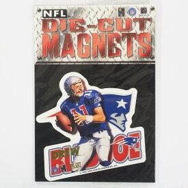 NFL ペイトリオッツ ドリュー・ブレッドソー 1996 ダイカット マグネット レアアイテム
