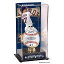 お取り寄せ MLB アストロズ ホセ・アルテューベ 2017 ワールドシリーズ 優勝記念 サブリメイテッド ディスプレイケース