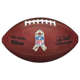 NFL The Duke オフィシャル ゲームボール Salute to Service ウィルソン/Wilson