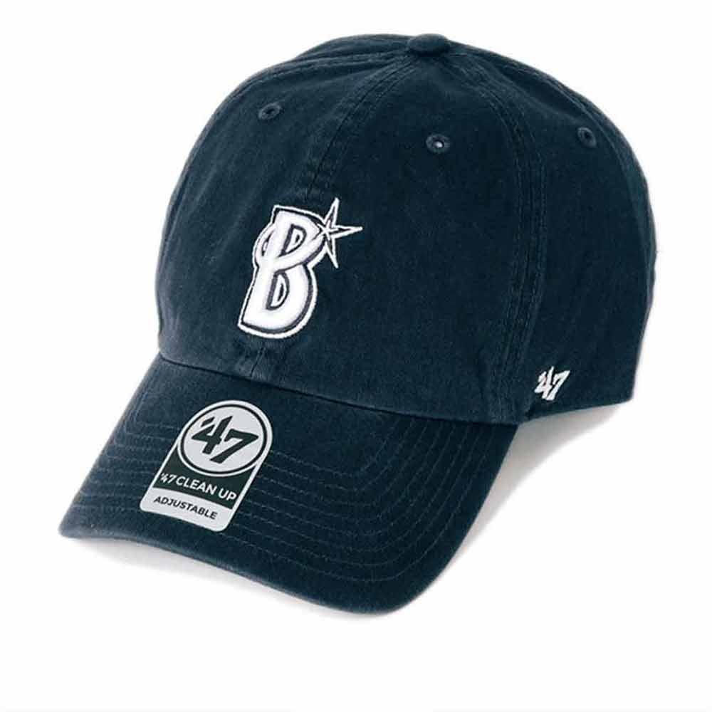 横浜DeNAベイスターズ グッズ クリーンナップ キャップ/帽子 47ブランド/47Brand ネイビー