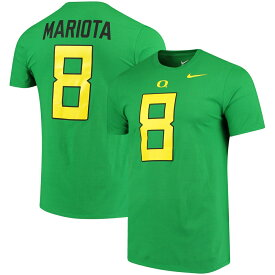 NCAA オレゴン大学 ダックス マーカス・マリオタ ネーム&ナンバー Tシャツ ナイキ/Nike アップルグリーン 00037399X【1910セール】