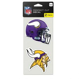 NFL バイキングス ステッカー/デカール 2枚セット ウィンクラフト/WinCraft