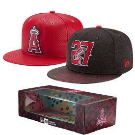 MLB エンゼルス マイク・トラウト 2-Time MVP アジャスタブル キャップ/帽子 ボックス セット ニューエラ/New Era レッド