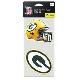 NFL パッカーズ パーフェクト カット デカール セット ステッカー/シール ウィンクラフト/WinCraft