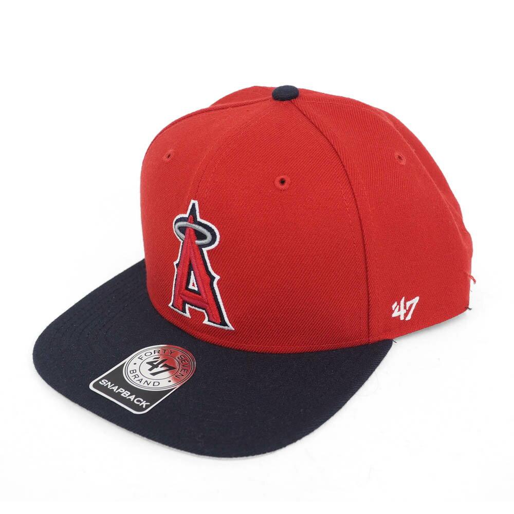 MLB エンゼルス シュア ショット ツートーン 47 キャプテン キャップ/帽子 47 ブランド/47 Brand