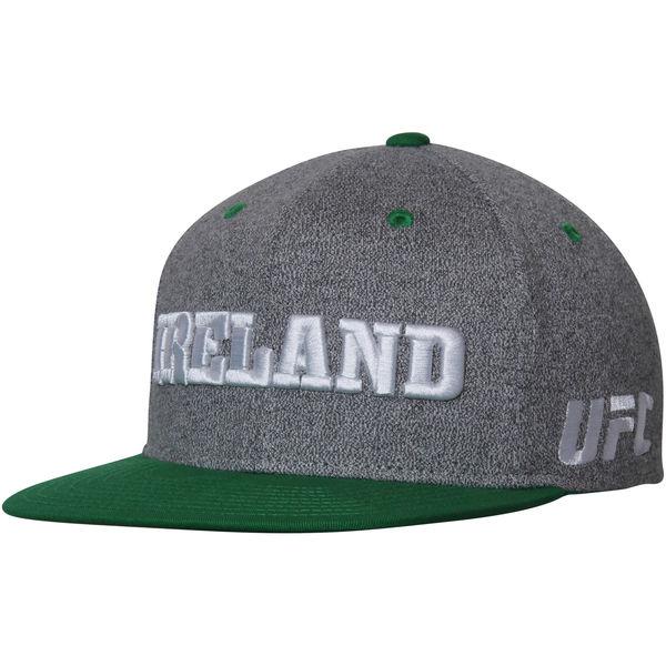 お取り寄せ UFC キャップ アイルランド カントリー プライド アジャスタブル 帽子 リーボック/Reebok グレー