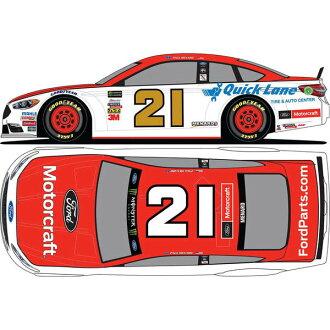 訂購的NASCAR木材·兄弟賽車桿·menado 2018 1/24壓鑄微型轎車福特·徐喬恩Action Racing