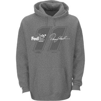 NASCAR喬·石膏·賽車丹尼·哈姆林贊助商套衫誰D Heather Gray