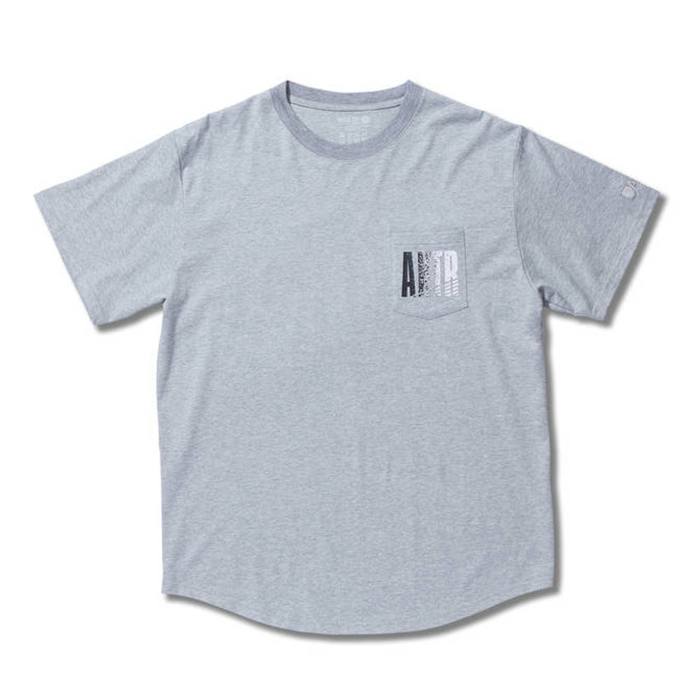 グロウ ポケット Tシャツ アクター/AKTR グレー