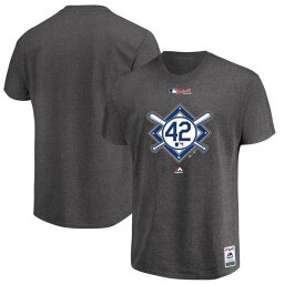 訂購的MLB T恤短袖2018杰基·魯濱孫·日Majestic/Majestic黑色