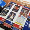 NBA粘紙/封條收集影集2017-18 PANINI