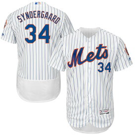 MLB メッツ ノア・シンダーガード ユニフォーム/ユニホーム 選手着用モデル マジェスティック/Majestic ホーム