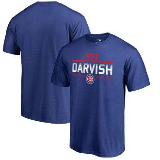 訂購的MLB Cubs達比修有T恤家鄉收集堆棧