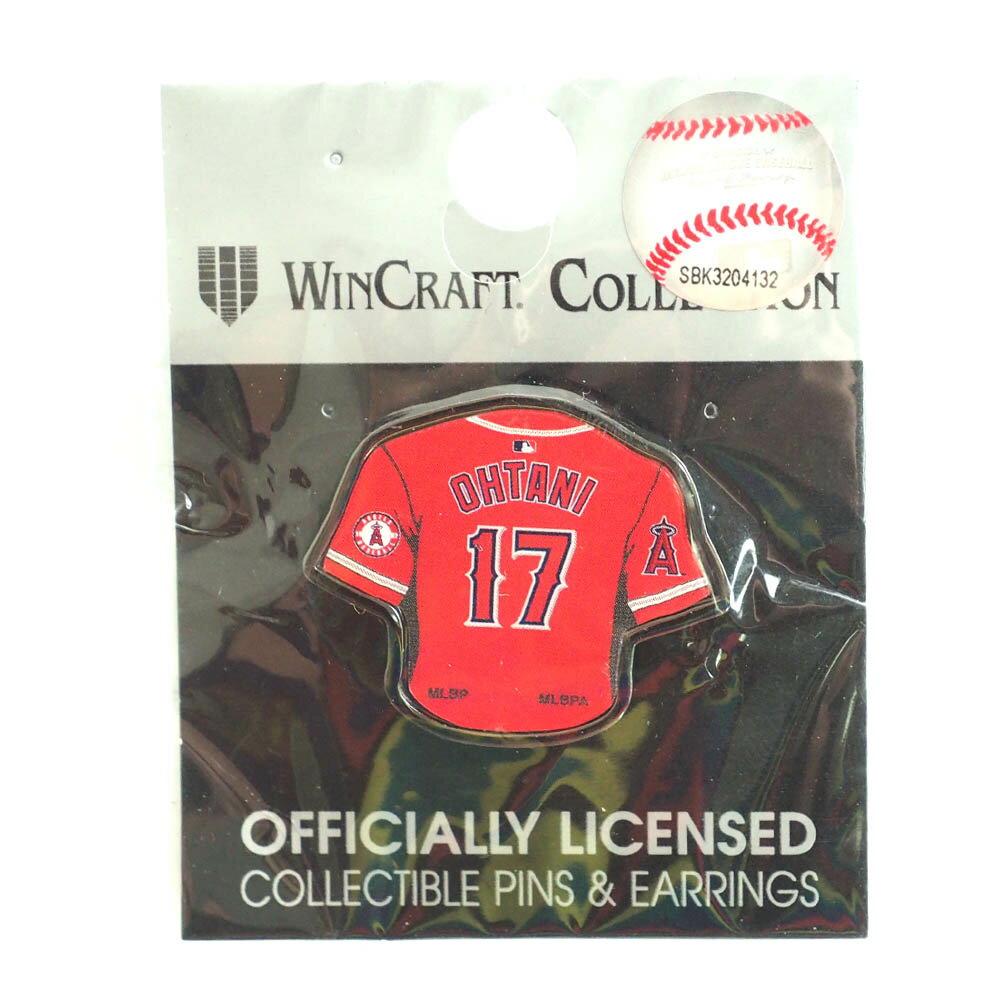 MLB エンゼルス 大谷翔平 ピンバッジ/ピンズ ユニフォーム ウィンクラフト/WinCraft オルタネート