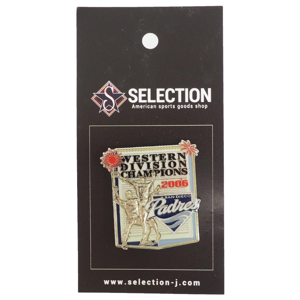 MLB パドレス ピンバッジ/ピンズ 2006 ウェスタン ディビジョン チャンピオン レアアイテム
