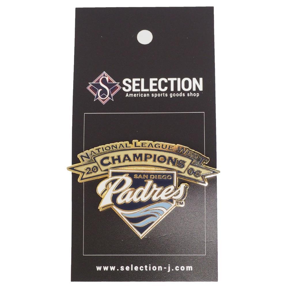 MLB パドレス ピンバッジ/ピンズ 2006 ナ・リーグ ウェスト チャンピオン レアアイテム