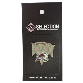 NHL アバランチ ピンバッジ/ピンズ 2000 スタンレーカップ チャンピオン レアアイテム